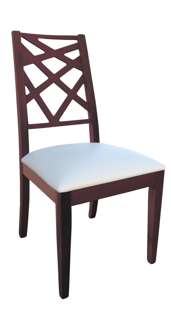 Sedia moderna in legno Afrodite