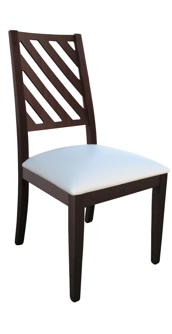 Sedia moderna in legno Demetra