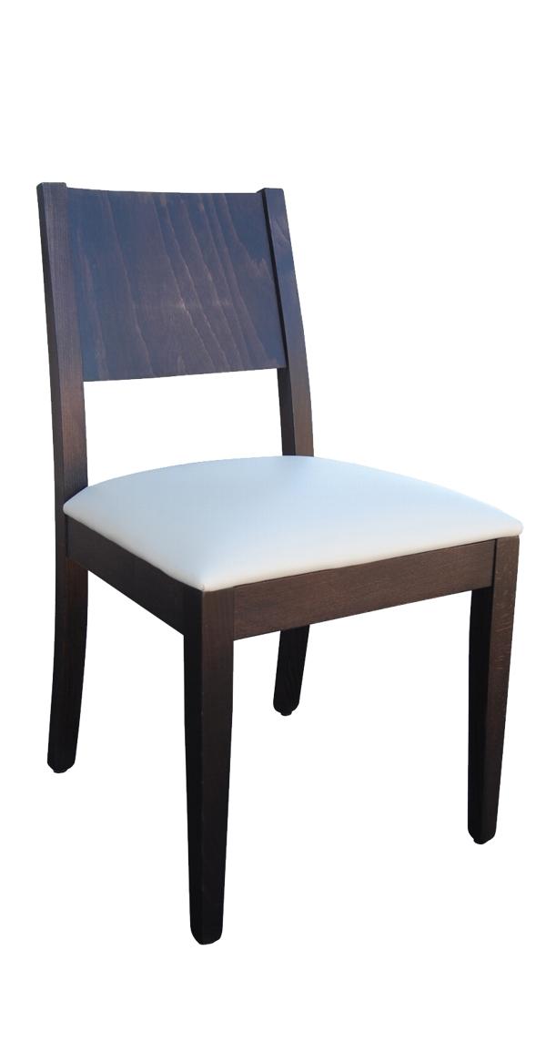 sedia moderna in legno Atena